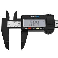 Paquímetro digital plástico 15cm
