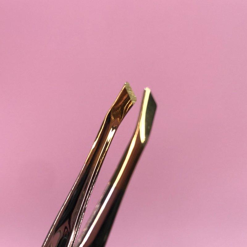 Pinça ponta chanfrada canelada - Solingen 2311.303