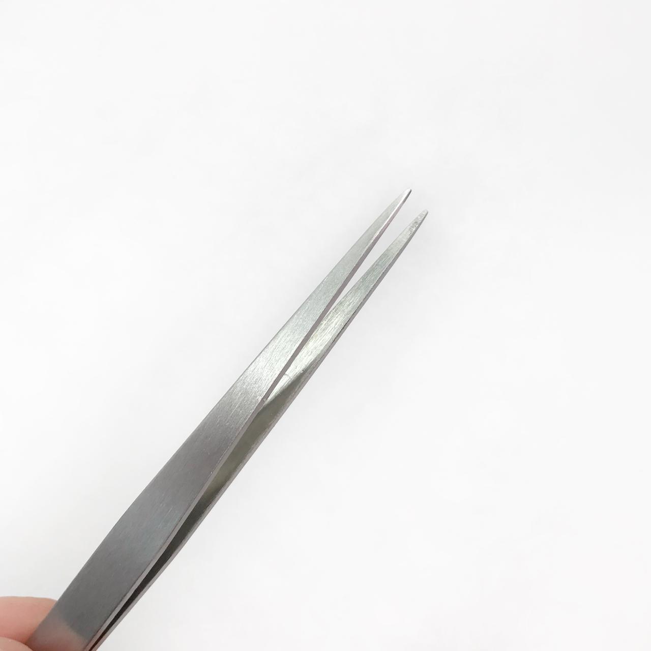 Pinça ponta fina aço inox PT30