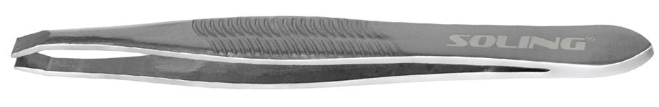 Pinça reta tradicional Inox Soling - 260
