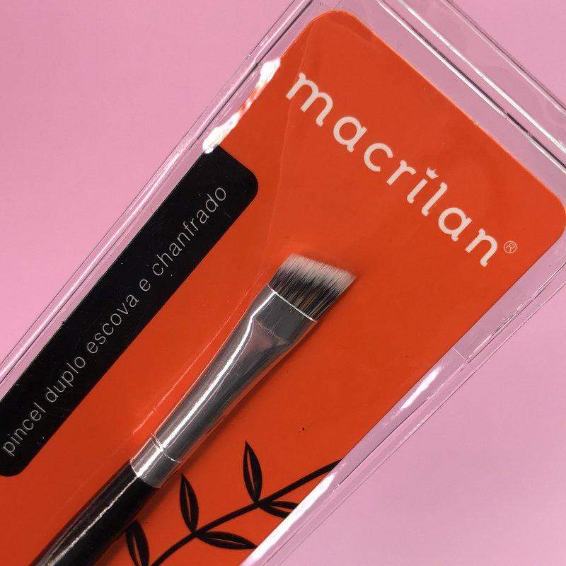 Pincel duplo escova e chanfrado Macrilan A14