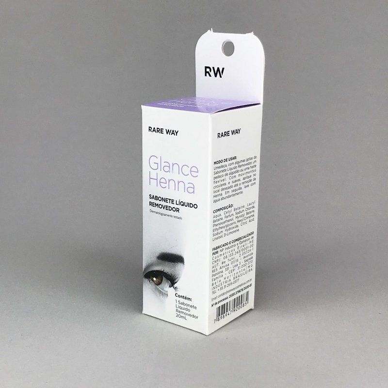 Sabonete líquido removedor Rare Way 20ml