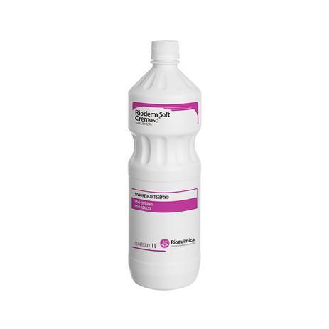 Sabonete soft cremoso Triclosan Rioquímica - 1lt