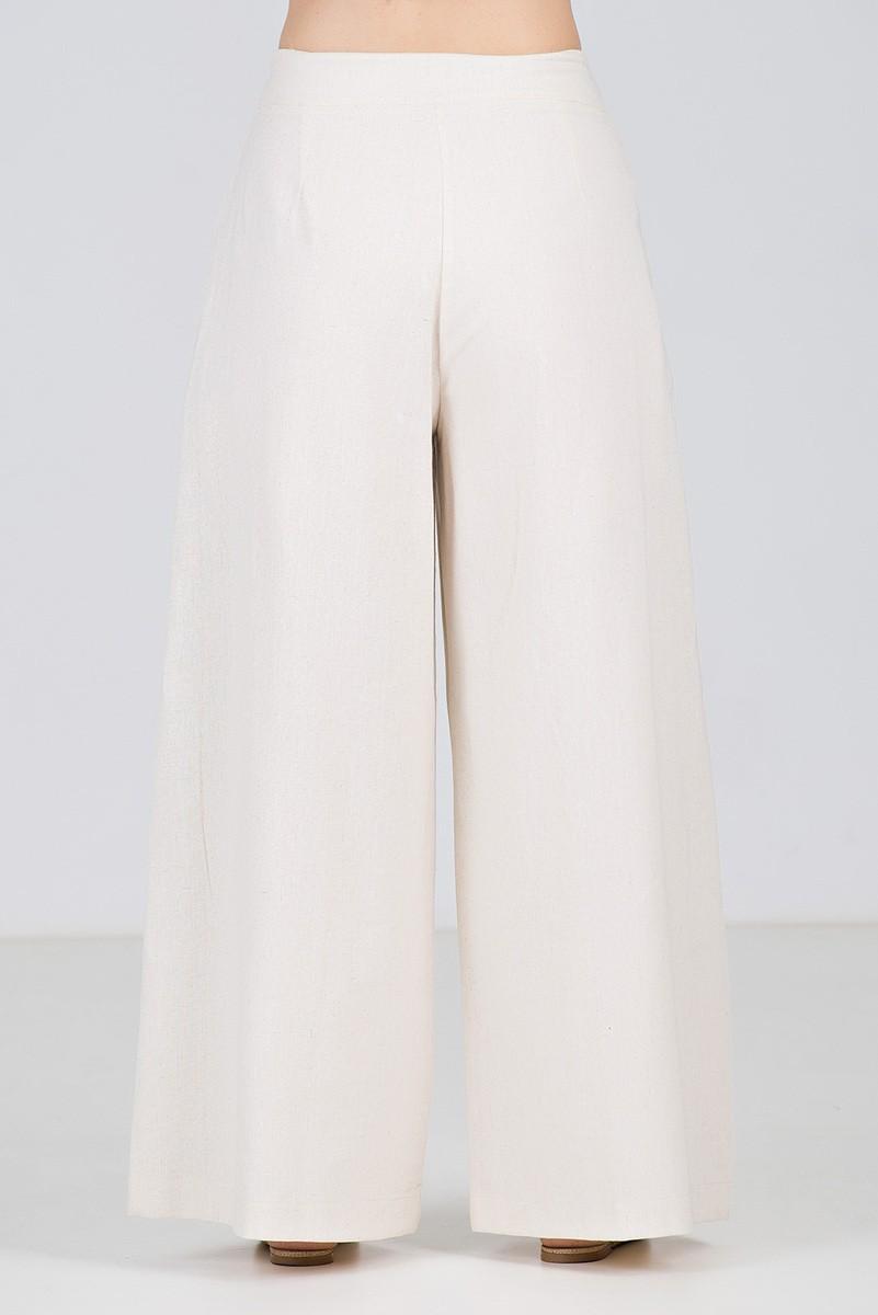 Conjunto Pantalona em Linho Cru - Midsize
