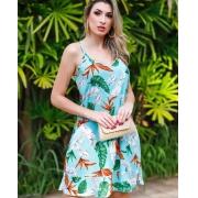Vestido Estampado Fabiana Arruda Tiffany