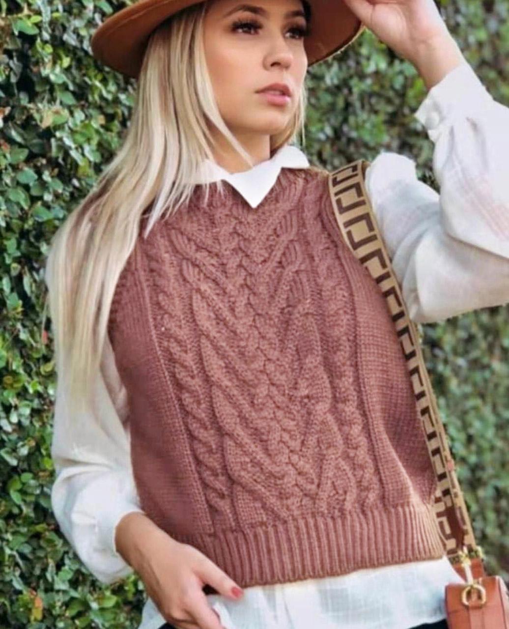 Colete tricot regata