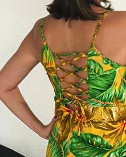 Vestido Estampado Fabiana Arruda A.