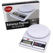 Balança Digital de Cozinha Alta Precisão 10 Kg 25x17x4 cm