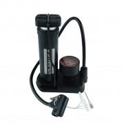Bomba Pedal Mini Manômetro 100PSI Starfer