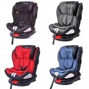 Cadeira Bebê Auto 0 a 36kg Isofix rotação 360º Baby Style