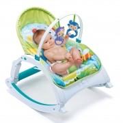 Cadeira de Descanso Bebê Alimentação Repouseira Baby Style Little - Verde