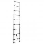 Escada Telescópica 2,6m com 8 Degraus em Alumínio Starfer