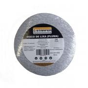 Kit 10 Un. Disco Lixa de Velcro Branco 150mm Grão 80 Starfer