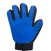 Kit 3 Peças  Luva Magnética Cinto Mordedor Azul