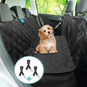 Kit Capa Pet Banco 3 Cinto Segurança Carro Universal