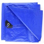 Lona Carreteiro 75 gramas Starfer Leve 6X4m Azul