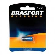 Pilha Bateria Alcalina 12 Volts Brasfort