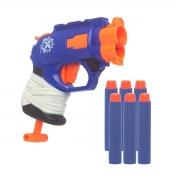 Pistola Tipo Nerf Mini Atiradora 6 Dardos Hero Baby Style Hero