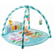 Tapete Redondo Infantil Musical Pianinho Baby Style