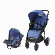 Travel System Bebê Victory 6 meses a 3 anos Baby Style Azul