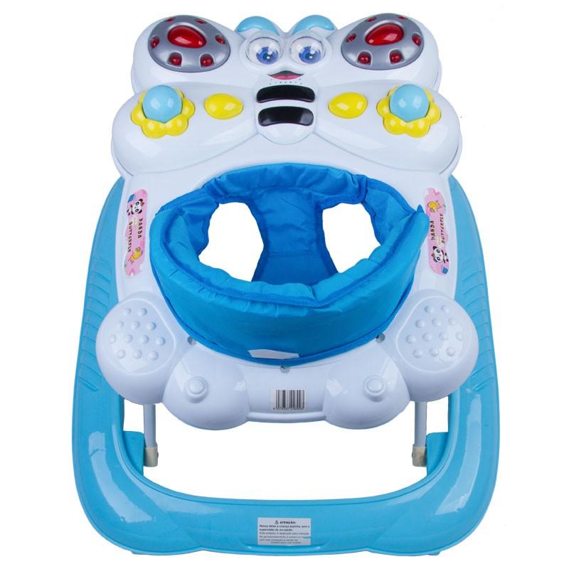 Andador Bebê Infantil Musical Recreativo Baby Style Animais
