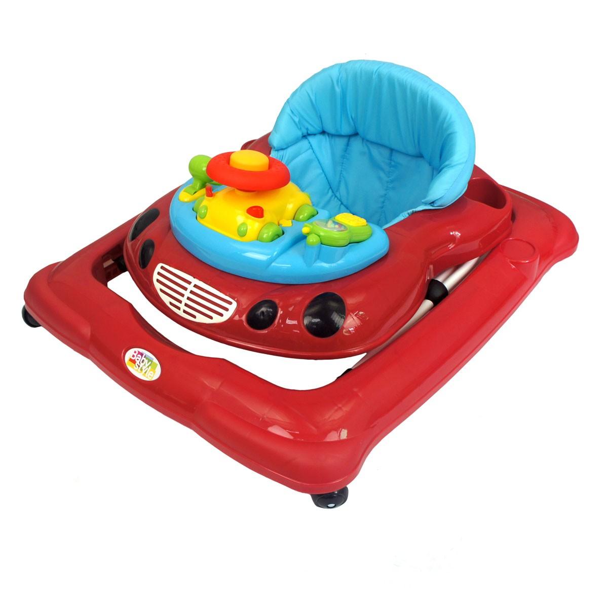 Andador Car Bebê Infantil Musical Baby Style