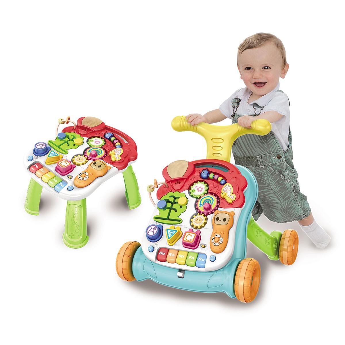 Andador Didático e mesinha 2 em 1 Baby Style