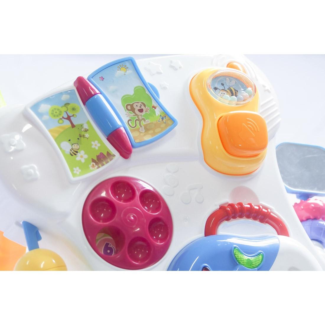 Andador Educativo Musical Didático 8 brinquedos Baby Style