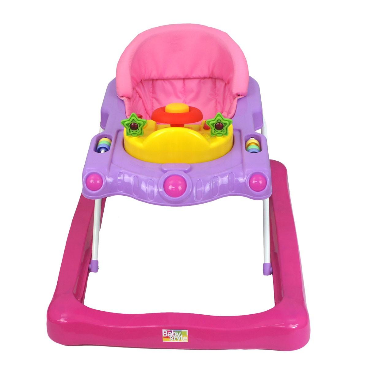 Andador Space Bebê Infantil Musical Baby Style