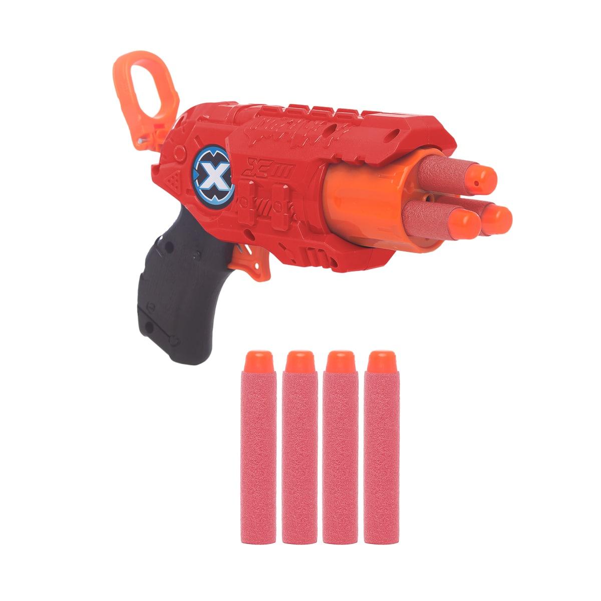 Arma Lançadora de Dardos Tipo Nerf Fit com 4 Dardos Hero Baby Style