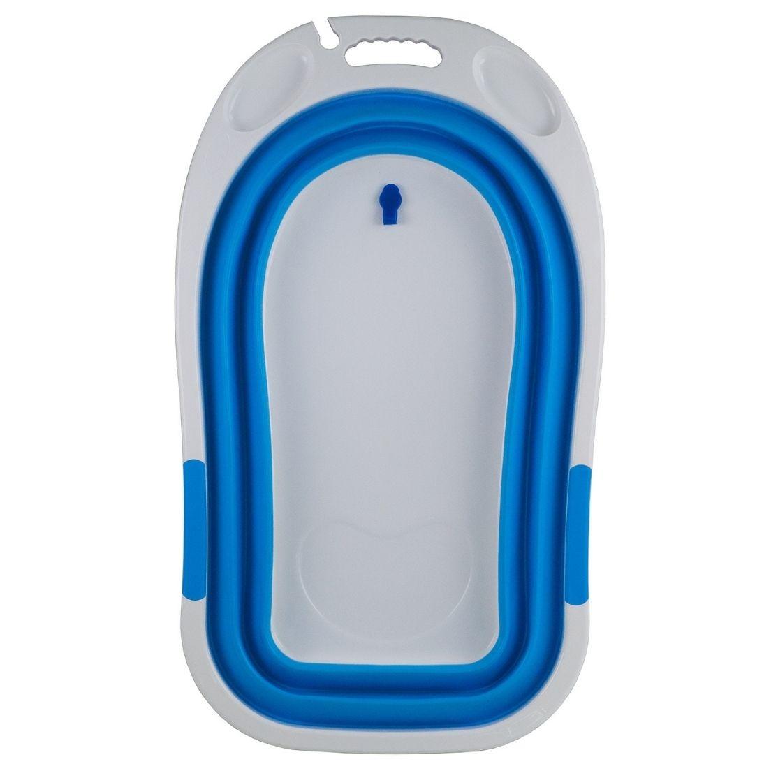 Banheira Dobravel Clean Azul Baby Style