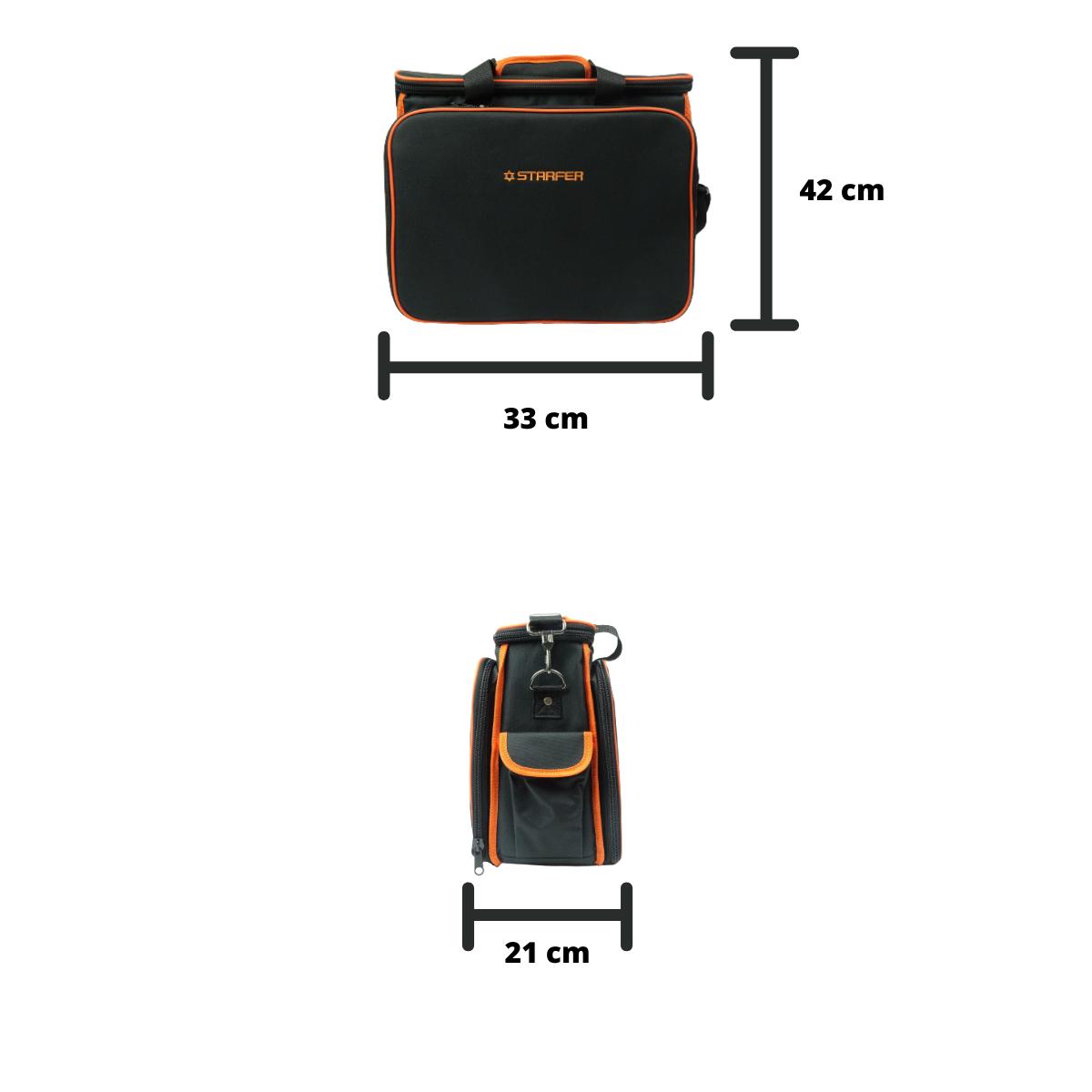 Bolsa Para Ferramentas C/ 32 Compartimentos Starfer