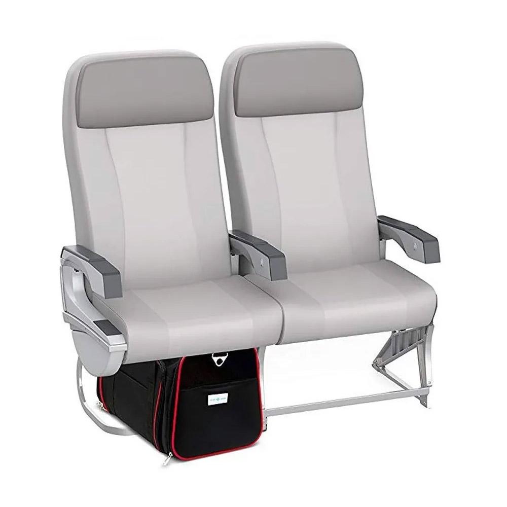 Bolsa Pet Para Transporte Avião Viagem Expansível Vermelha