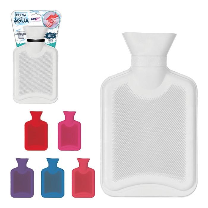 Bolsa Térmica Compressa Água Quente Em Borracha 650ml