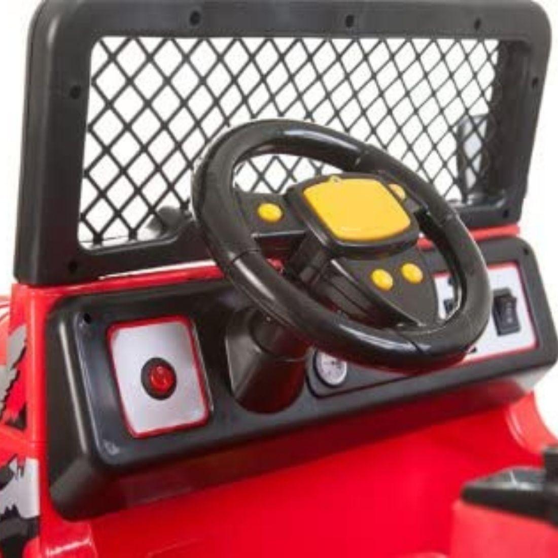 Brinquedo Carrinho Infantil Motorizado Elétrico Mini Jipe
