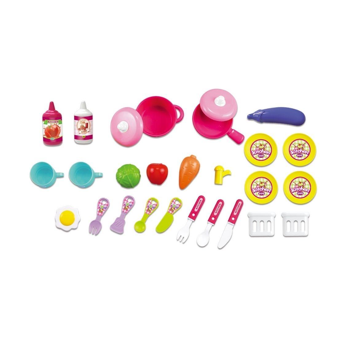 Brinquedo Infantil Chef Cozinha Fogão Maleta Rodinha 2 em 1