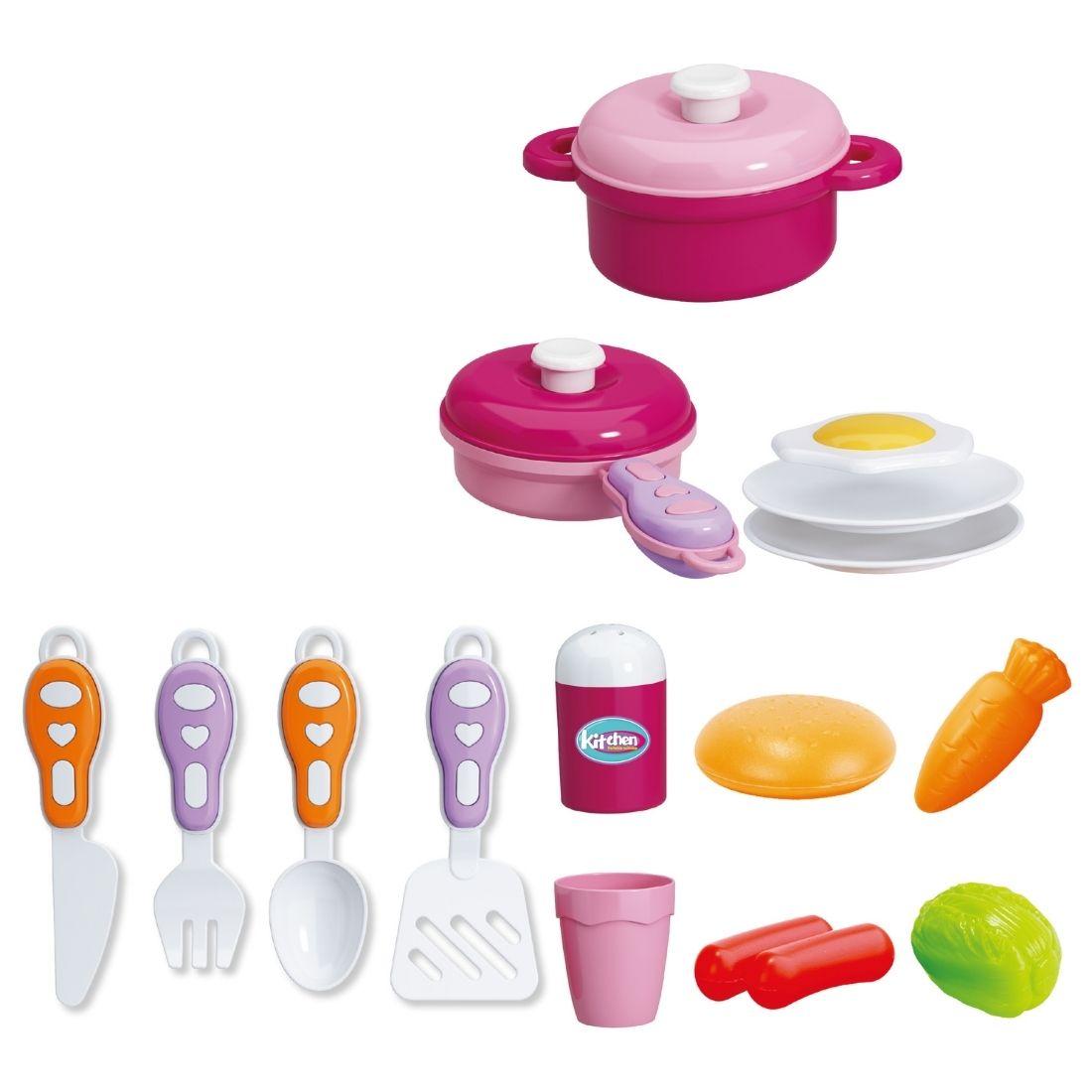Brinquedo Maleta Infantil Chef de Cozinha Portátil 2 em 1