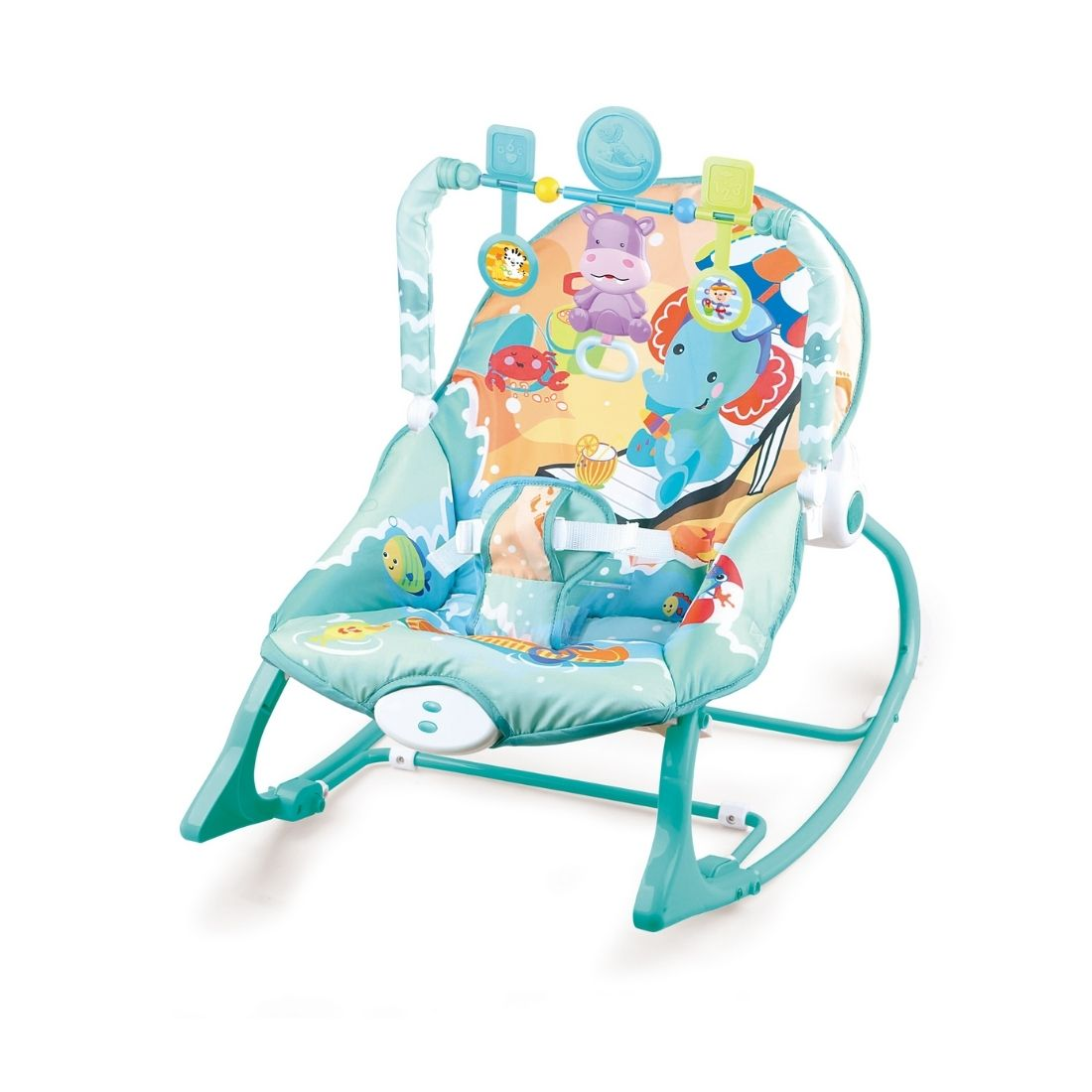 Cadeira Bebê descanso Balanço Musical Vibratória