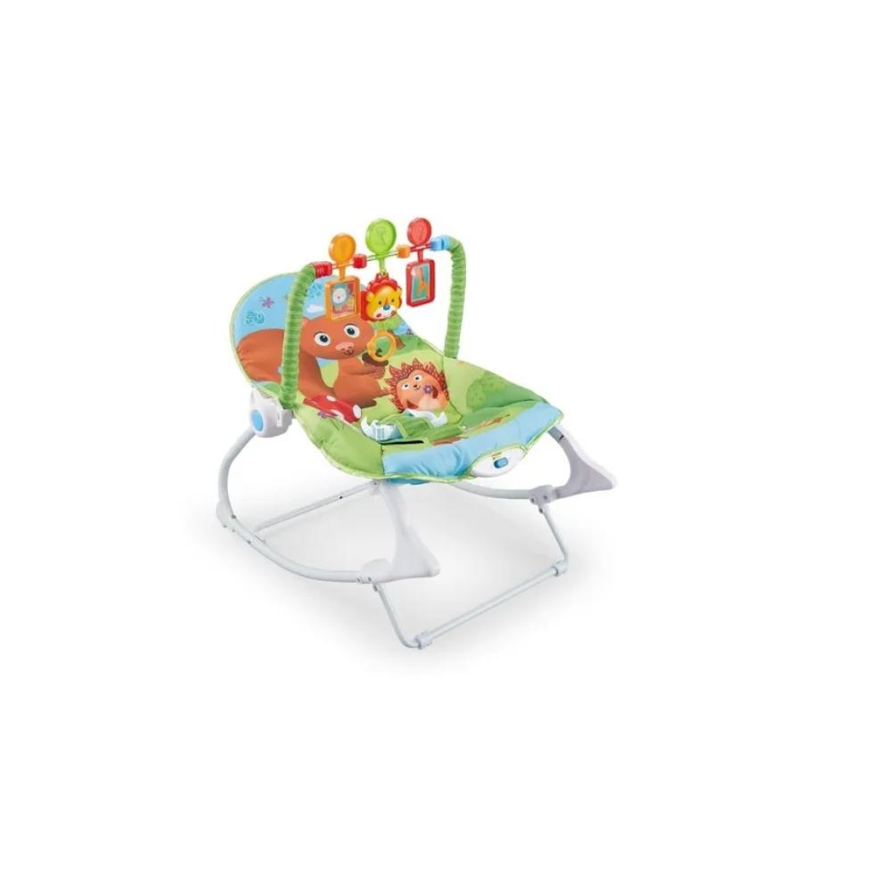 Cadeira Bebê descanso Balanço Musical Vibratória Esquilinho