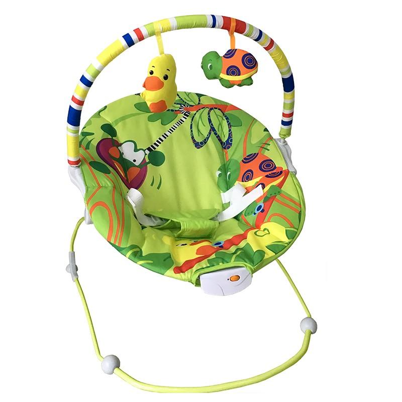 Cadeira Bebê Descanso Vibratória Musical Baby Style Poly