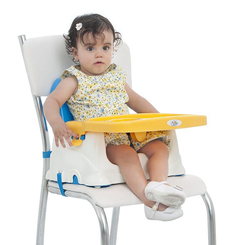 Cadeira Booster Alimentação Bebê Portátil Baby Style