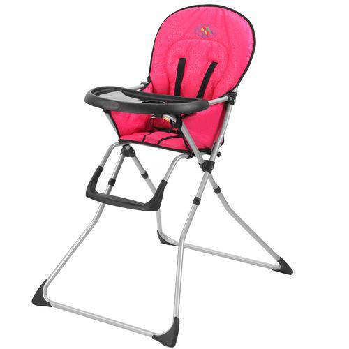 Cadeira Cadeirao Alimentação Bebe Cangoo Baby Style Rosa