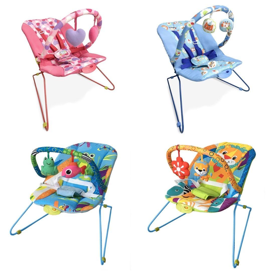 Cadeira de Descanso Vibratória Bebê Musical Lite Baby Style