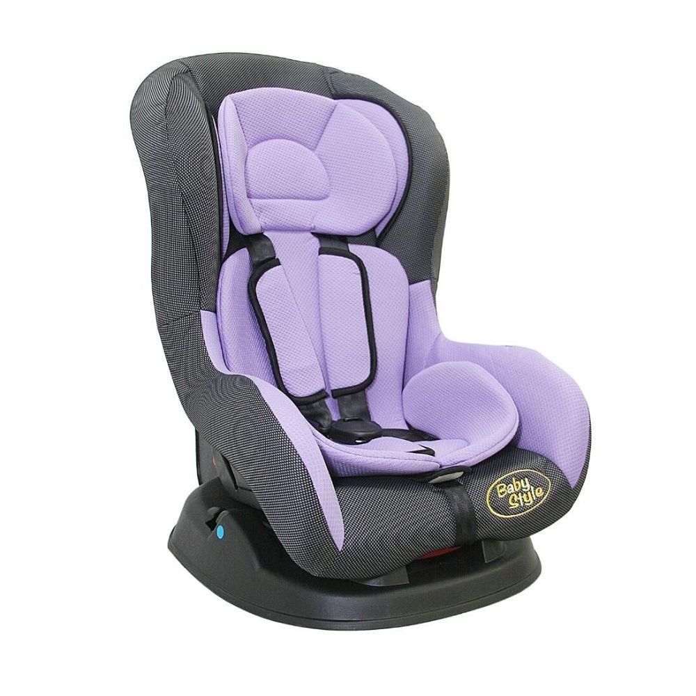 Cadeira para Auto 0 a 18kg Lilás e Cinza Baby Style