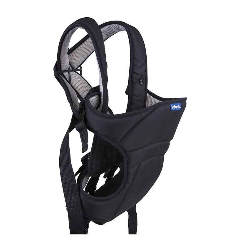 Canguru Bebê 3 Posições Conforto Ergonômico Baby Style Preto
