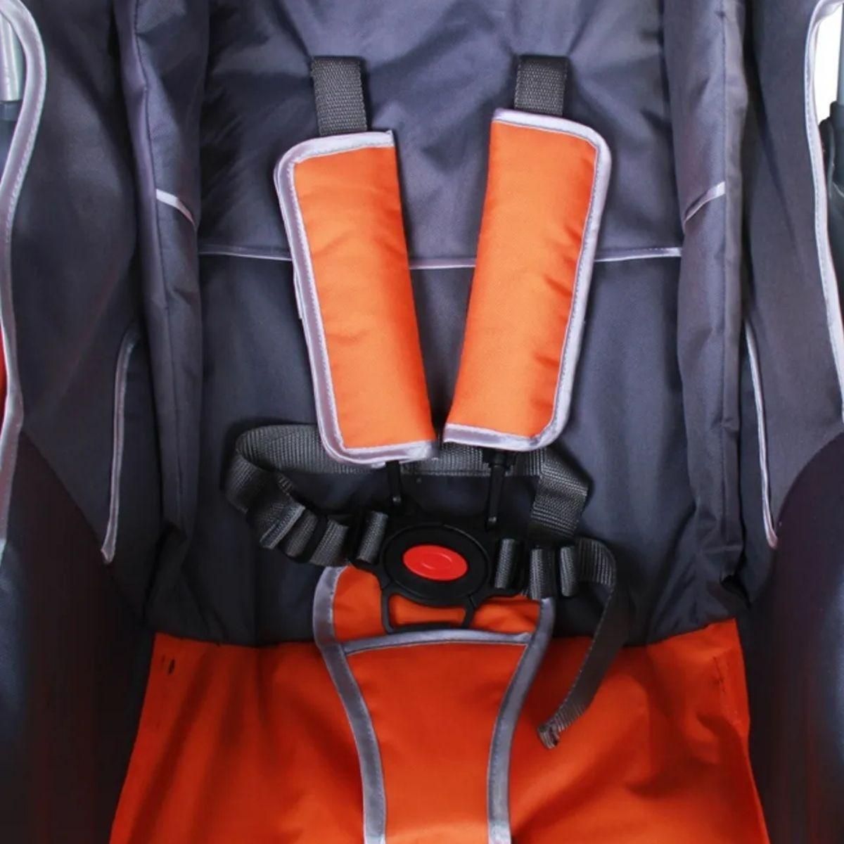 Carrinho de Bebê para PasseioSmart Baby Style Laranja