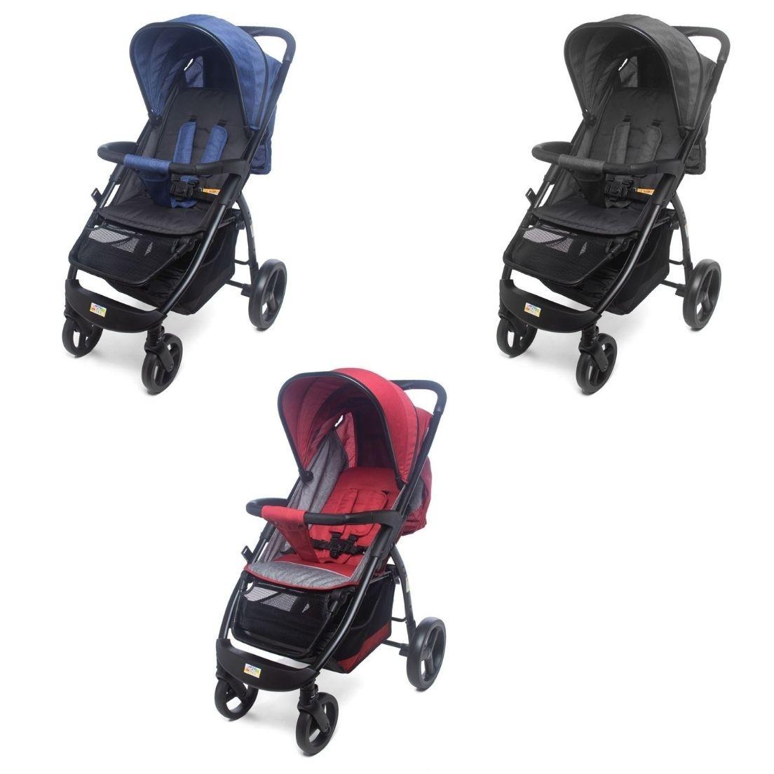 Carrinho de Bebê Passeio vira Berço Arion - Baby Style
