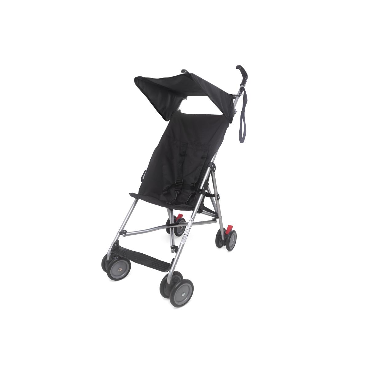 Carrinho Infantil Passeio Compacto Cool Baby Style Preto
