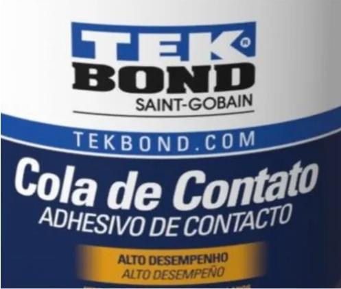 Cola De Contato E Adesivo Secagem Rapida Tekbond 2,8kg
