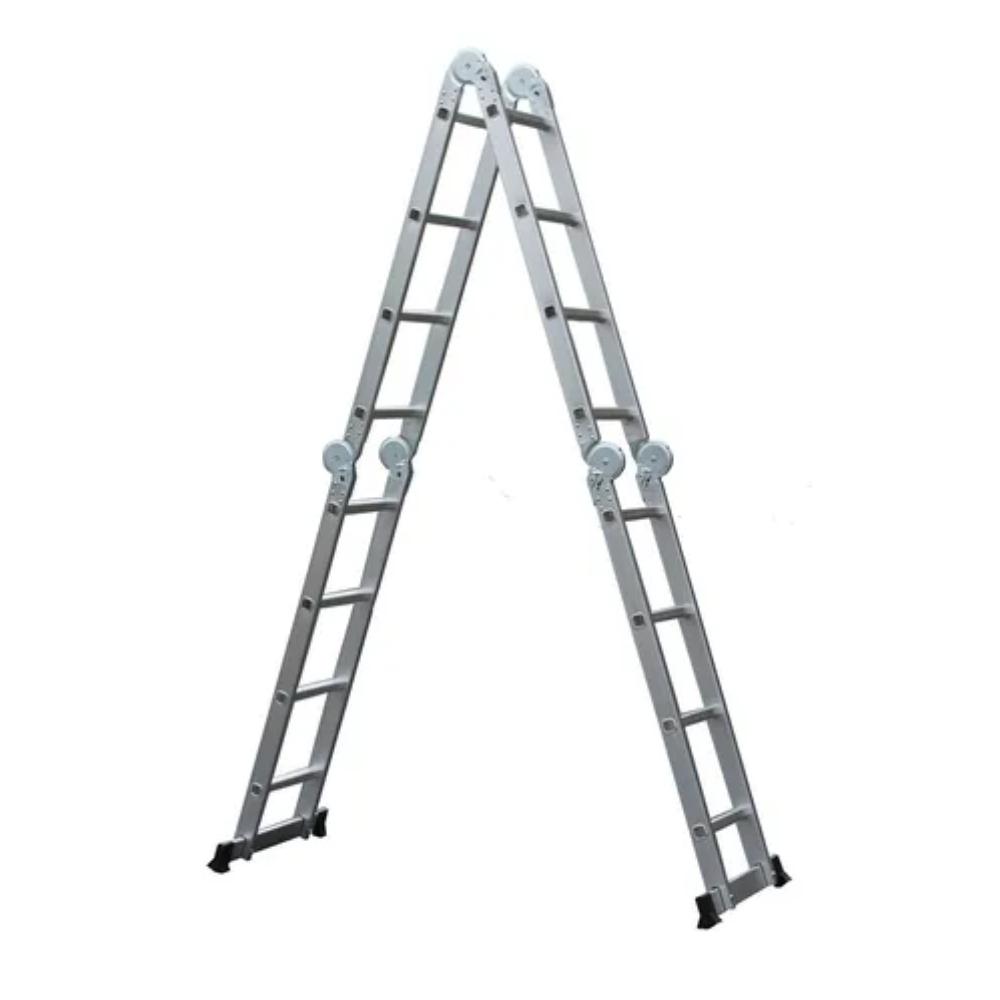 Escada Dobrável Alumínio 4x4 16 degraus 4,65m Starfer